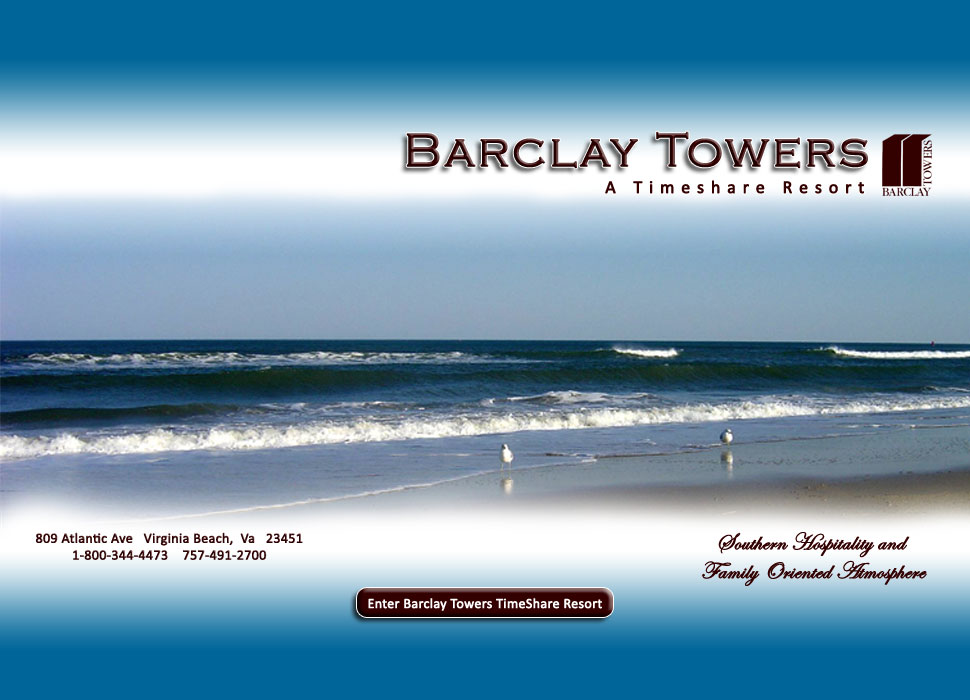 Barclay Towers Timeshare Resort Home Page